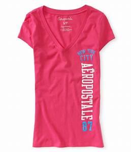 Aeropostale Womens NYC 87 Graphic T-Shirt | Womens Apparel ...