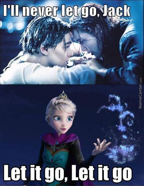 Frozen Let It Go Meme