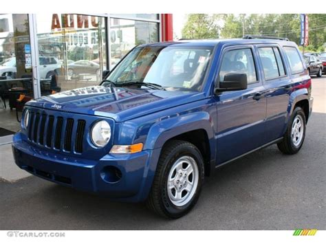patriot jeep blue 2009 deep water blue pearl jeep patriot sport 32966720