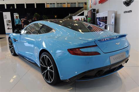 2013 Aston Martin Vanquish Is A Rhapsody In Blue [w/video