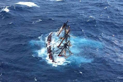 Hms Bounty Sinking hurricane after landfall the atlantic