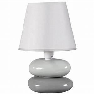 Lampe De Chevet Gifi : lampe galet grise objet de d co d coration gifi ~ Dailycaller-alerts.com Idées de Décoration