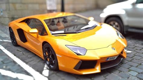 Beautiful Yellow Lamborghini Hd Wallpaper