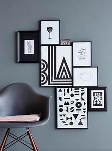 Viele Bilder Aufhängen : bilderrahmen aufh ngen gewusst wie bildw nde eames ~ Lizthompson.info Haus und Dekorationen