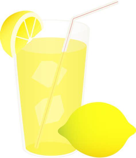 Lemonade Clip Cold Lemonade With Straw Free Clip
