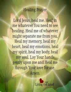 Jesus Name Healing Prayer