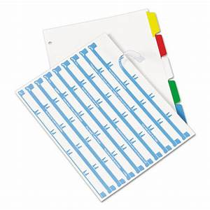 ave11406 avery index maker print apply clear label With avery 5 tab clear label dividers template