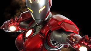 Marvel Iron Man Rescue Girl Armour 1/4 Scale Statue - YouTube