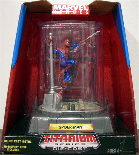 spider man titanium series die cast