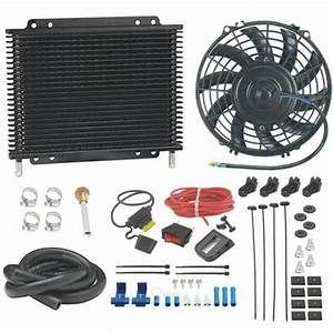 Transmission Oil Cooler 9 U0026quot  Inch 12v Electric Fan Manual