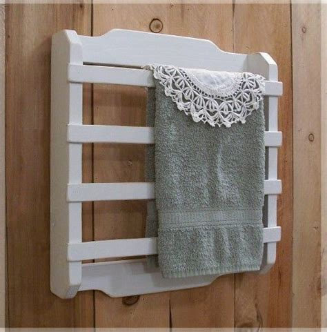shabby chic laundry room shabby chic towel rack 4 slat kitchen bathroom laundry room french country white color choice