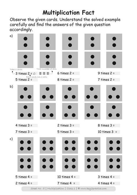maths worksheets grade  multiplication keypractice