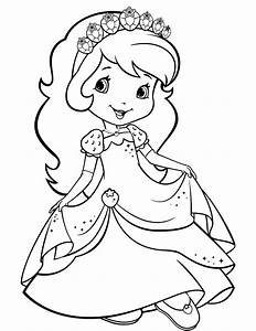 Strawberry Shortcake 24 - Coloringcolor com
