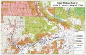 Roan Plateau Map