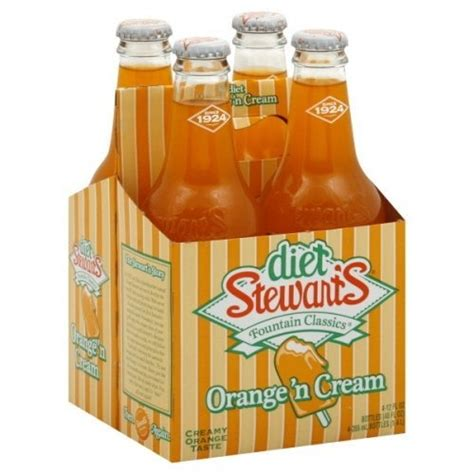 You can also swap out milk or cream for soy milk, almond milk or rice milk. stewart's orange and cream diet soda | Stuff I love