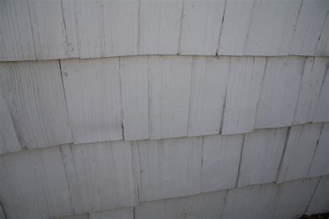 identify  siding shingles painting smell