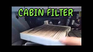 How To Replace Cabin Air Filter In 2008 2012 Toyota