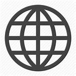 Icon Website Webpage Worldwide Global Mutual Response