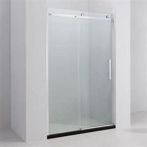 porte de douche coulissante 100 a 140 cm almeria With porte douche coulissante 140 cm