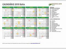 CALENDÁRIO 2019 para IMPRIMIR com feriados