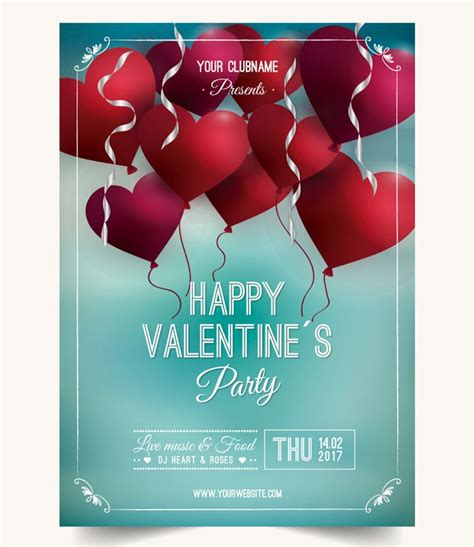 beautiful print ready valentines day posters