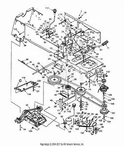 Mtd 14ai828h205  2001  Parts Diagram For Drive  Controls  Pto