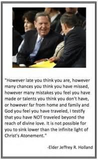 Atonement LDS Quote Jeffrey R. Holland