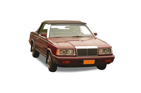 le comptoir du cabriolet accessoires auto chrysler le baron cabriolets comptoir du cabriolet
