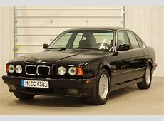 LowMileage E34 BMW 540i sixspeed on BringATrailer