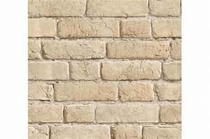 Papier Peint Fausse Pierre : papier peint briques beiges cendr es papier peints ~ Dailycaller-alerts.com Idées de Décoration