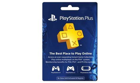 1Year PlayStation Plus Membership Groupon