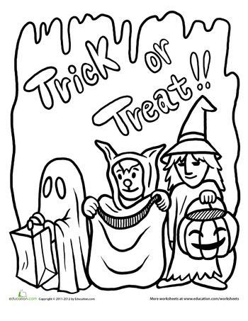 halloween coloring pages images
