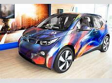 BMW i3 Farbenfrohes Art Car von Sebastien 'MrD' Boileau