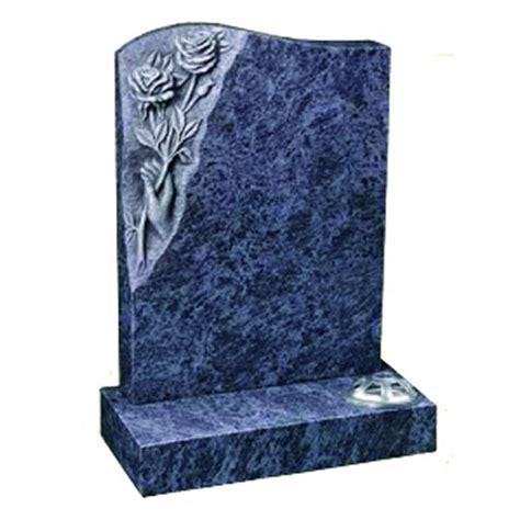 headstones brisbane a1m026 bahama blue alpha1memorials