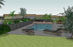 amenagement petit jardin morbihan maezad With amenagement petit jardin avec piscine 10 parc