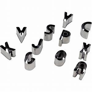La Centrale Alphabet : emporte pi ces m tal alphabet lot de 26 n c vente d 39 accessoires modelage la centrale du ~ Maxctalentgroup.com Avis de Voitures