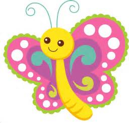 Cute Cartoon Butterfly Clip Art
