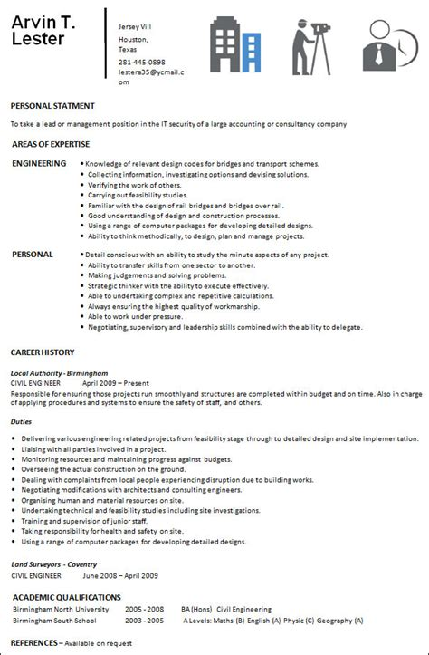 professional resume templates  ms word