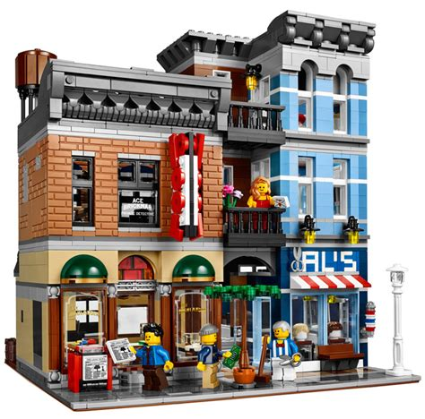 Lego Creator Detective's Office And Barber Shop (10246