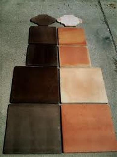 dark stained saltillo tile    find  black