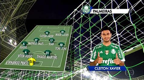 Escalação com Hino: Palmeiras (Rede Globo) - YouTube