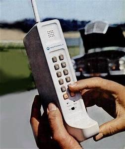 Remember the first cell phones, a.k.a. the brick, from the ...