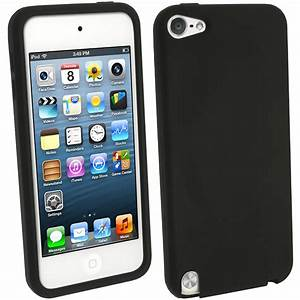 iGadgitz Black Silicone Skin Case Cover for Apple iPod ...