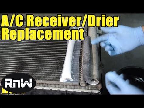 replace  desiccant element receiver drier