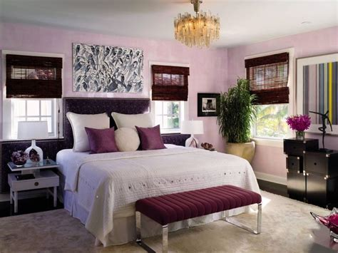 Beautiful Master Bedrooms With Purple Walls