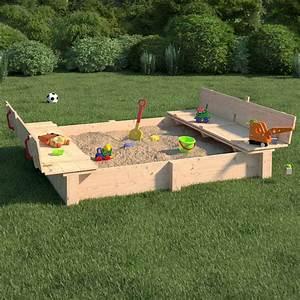 Sandkasten Kunststoff Xxl : sandkasten mit deckel habau sandkasten mit deckel und integrierter bank sandkasten mit deckel ~ Orissabook.com Haus und Dekorationen