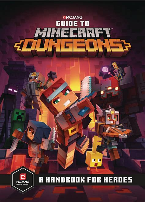 MAR201807 - GUIDE TO MINECRAFT DUNGEONS HC - Previews World