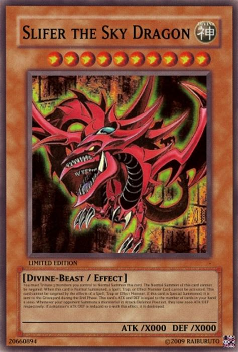 Slifer The Sky Deck Anime by Mods Downloads Yu Gi Oh Throwing Cards V5 Taking Requests