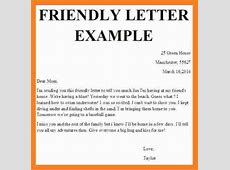 11+ friendly letter format template Invoice Template