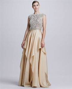 naeem khan evening gown dresscab With evening wedding dress